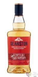 "Deanston "" Kentucky Cask Matured "" single malt Highland whisky 40% vol.  0.70 l"