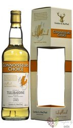 "Tullibardine 1994 "" Connoisseurs choice "" Highland whisky by Gordon & MacPhail 46% vol.   0.70 l"