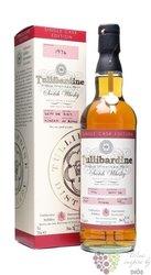 "Tullibardine 1994 "" Single cask edition "" single malt Highland whisky 46% vol.0.70 l"