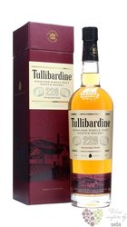 "Tullibardine "" 228 Burgundy finish "" single malt Highland whisky 43% vol.    0.70 l"