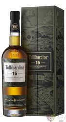 Tullibardine aged 15 years single malt Highland whisky 43% vol.  0.70 l