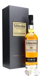 Tullibardine aged 20 years single malt Highland whisky 43% vol.    0.70 l