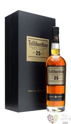 Tullibardine aged 25 years single malt Highland whisky 43% vol.    0.70 l
