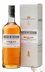 "Auchentoshan "" Virgin oak ed.2 "" triple distilled single malt Lowland whisky 46% vol.    0.70 l"