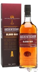 "Auchentoshan "" Blood oak "" aged 14 years single malt Lowland whisky 46% vol.  0.70 l"