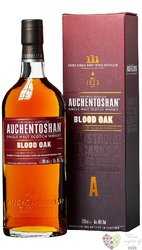 "Auchentoshan "" Blood Oak "" aged single malt Lowland whisky 46% vol.  0.70 l"