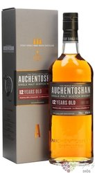 Auchentoshan 12 years old triple distilled single malt Lowland whisky 40% vol. 0.70 l