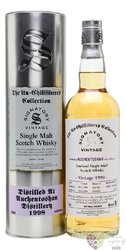 "Auchentoshan 1998 "" Signatory UnChilfiltered collection "" aged 17 years Lowlandwhisky 46% vol.  0.7"