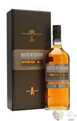 Auchentoshan 21 years old triple distilled single malt Lowland whisky 43% vol.0.70 l