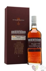 "Auchentoshan 1988 "" Wine cask "" aged 25 years single malt Lowland whisky 47.6% vol.   0.70 l"