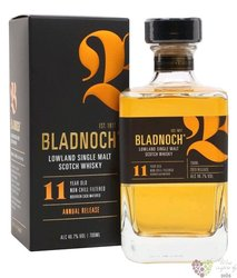 Bladnoch 11 years old single malt Lowlands Scotch whisky 46.7% vol.  0.70 l