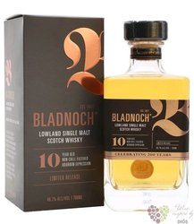 "Bladnoch  "" Ltd. release bourbon expresion "" aged 10 years Lowlands malt whisky46.7% vol. 0.70 l"