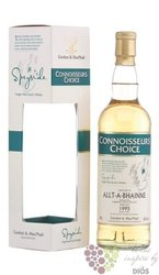 "Allt A´Bhainne 1995 "" Connoisseurs choice "" aged 14 years whisky Gordon & MacPhail 43% vol.   0."