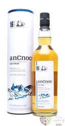 anCnoc 16 years old single malt Speyside whisky 46% vol.  0.70 l
