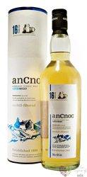 anCnoc 16 years old single malt Speyside whisky 46% vol.      0.70 l