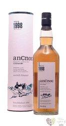 "anCnoc 1998 "" Unchill - filtered "" single malt Speyside whisky 46% vol.    0.70l"