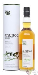 anCnoc 2002 bott. 2017 single malt Speyside whisky 46% vol.  0.70 l