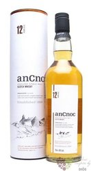 anCnoc 12 years old single malt Speyside whisky 40% vol.  0.70 l
