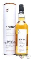 anCnoc 12 years old single malt Speyside whisky 40% vol.     0.05 l