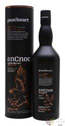 "anCnoc "" Peatheart batch.1 "" single malt Speyside whisky 46% vol.  0.70 l"