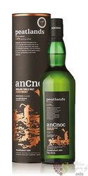"anCnoc "" Peatlandsan "" single malt Speyside whisky 46% vol.  0.70 l"