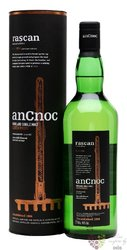 "anCnoc "" Rascan 11.1 ppm "" single malt Speyside whisky 46% vol.  0.70 l"