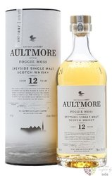 Aultmore of the Foggie Moss aged 12 years Speyside whisky 46% vol.  0.70 l