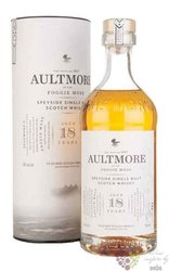 Aultmore of the Foggie Moss aged 18 years Speyside whisky 46% vol.  0.70 l