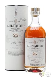 Aultmore of the Foggie Moss aged 25 years Speyside whisky 46% vol.  0.70 l
