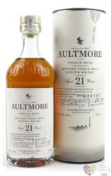 Aultmore of the Foggie Moss aged 21 years Speyside whisky 46% vol.  0.70 l