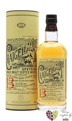 "Craigellachie "" Foward & Mackie founders "" aged 13 years Speyside whisky 46% vol.  1.00 l"