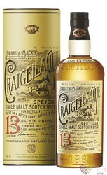 "Craigellachie "" Foward & Mackie founders "" aged 13 years Speyside whisky 46% vol.  0.70 l"