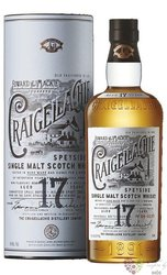 Craigellachie aged 17 years Speyside whisky 46% vol.  0.70 l