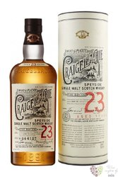 Craigellachie aged 23 years Speyside whisky 46% vol.  0.70 l