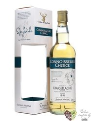 "Craigellachie 1990 "" Connoisseurs choice "" Speyside whisky by Gordon & MacPhail43% vol.    0.70"