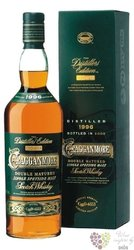 "Cragganmore 1996 "" Distillers edition "" bott.2008 single malt Speyside whisky 40% vol.  1.00 l"