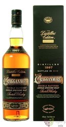 "Cragganmore 1997 "" Distillers edition 2010 "" single malt Speyside whisky 40% vol.  0.70 l"