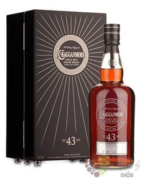 Cragganmore aged 43 years Speyside whisky 47.4% vol.  0.70 l