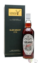 "Glen Grant 1958 "" Rare vintage "" Speyside whisky by Gordon & MacPhail 40% vol.0.70 l"