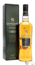 Glen Grant 10 years old single malt Speyside Scotch whisky 40% vol.  0.75 l