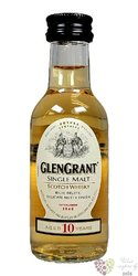 Glen Grant 10 years old single malt Speyside Scotch whisky 40% vol.    0.05 l
