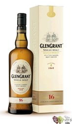 Glen Grant 16 years old single malt Speyside Scotch whisky 43% vol.    0.70 l