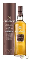 Glen Grant 12 years old single malt Speyside gift box Scotch whisky 46% vol  1.00 l