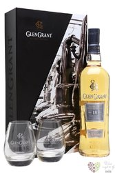 Glen Grant 18 years old 2glass pack single malt Speyside Scotch whisky 43% vol.0.70 l