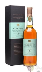 "Glen Spey 1989 "" Ltd.edition "" aged 21 years Speyside whisky 50.4% vol.   0.70 l"