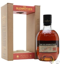 "Glenrothes 1988 "" Vintage reserve "" single malt Speyside whisky 43% vol.   0.70l"