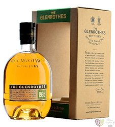 "Glenrothes 1995 "" Vintage reserve "" single malt Speyside whisky 43% vol.  0.70 l"