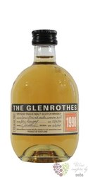 "Glenrothes 1998 "" Vintage reserve "" single malt Speyside whisky 43% vol.  0.10 l"