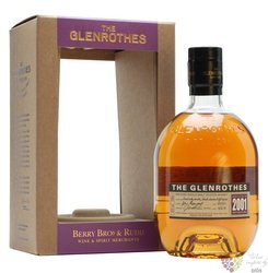 "Glenrothes 2001 "" Vintage reserve "" single malt Speyside whisky 43% vol.  0.70 l"