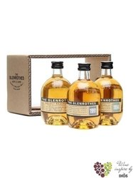 "Glenrothes "" 91&SR&SA "" set of single malt Speyside whisky 43% vol.   3 x 0.10 l"